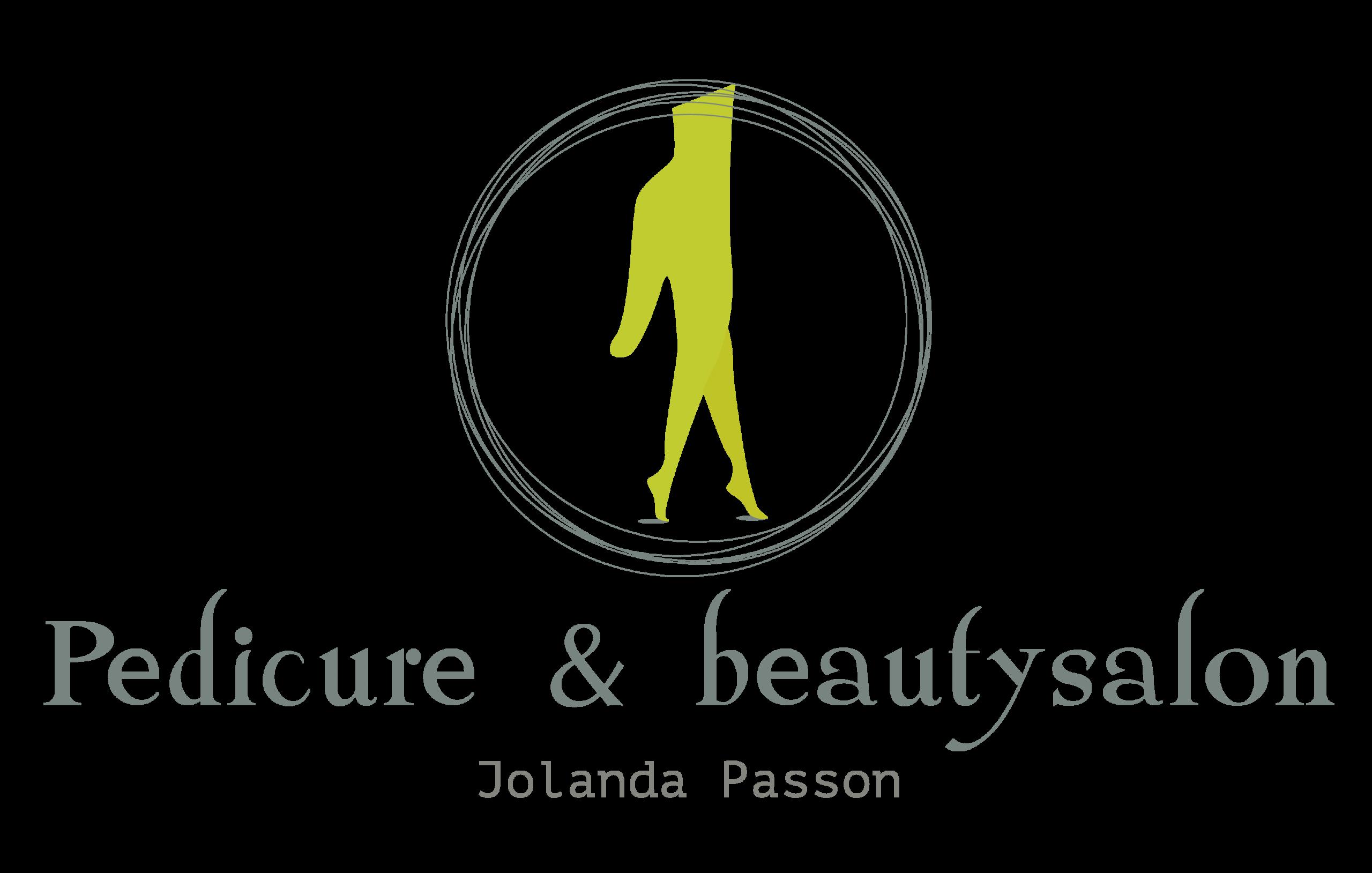Logo Pedicure en Beautysalon Jolanda